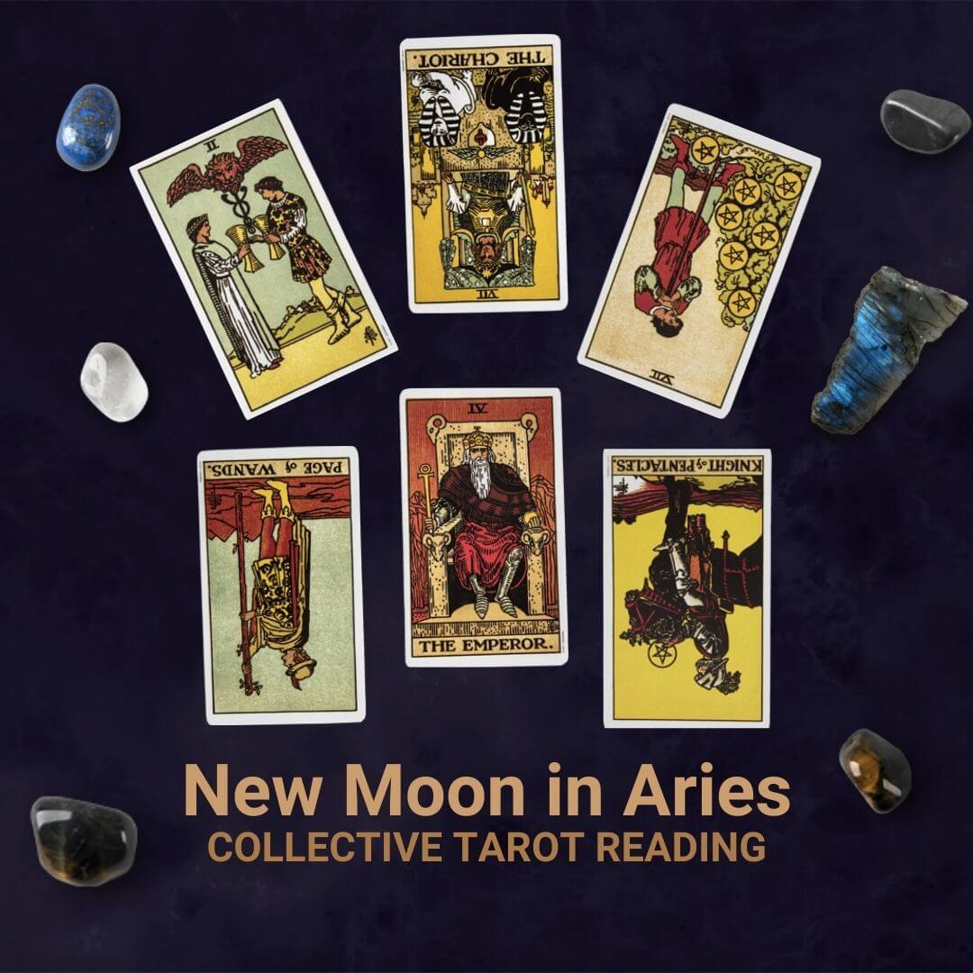 New Moon in Aries Reading